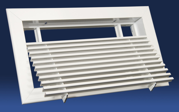 Linear Ceiling Grills : Hvacquick dayus dablr bar linear grille with removable