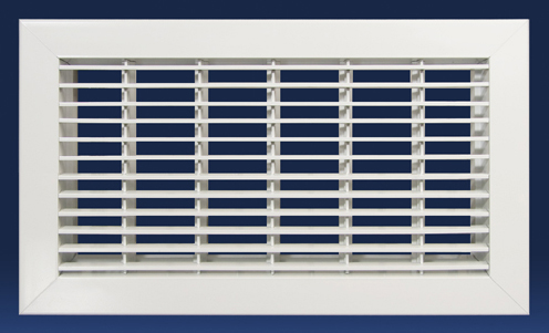 Hvacquick Dayus Dafg Bar Linear Return Floor Grille With