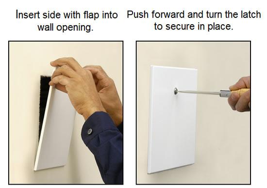Hvacquick Access Panels Inc Fap Frameless Drywall Access
