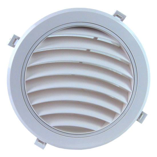 Curved Linear Diffuser : Hvacquick airscape mvc round plastic diffusers with no