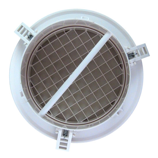 Hvacquick Airscape Mve Round Plastic Diffusers With No