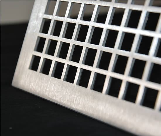 Hvacquick - Airscape Custom Flat Perforated Grilles  2