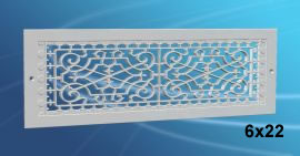 smi victorian wall mount grille