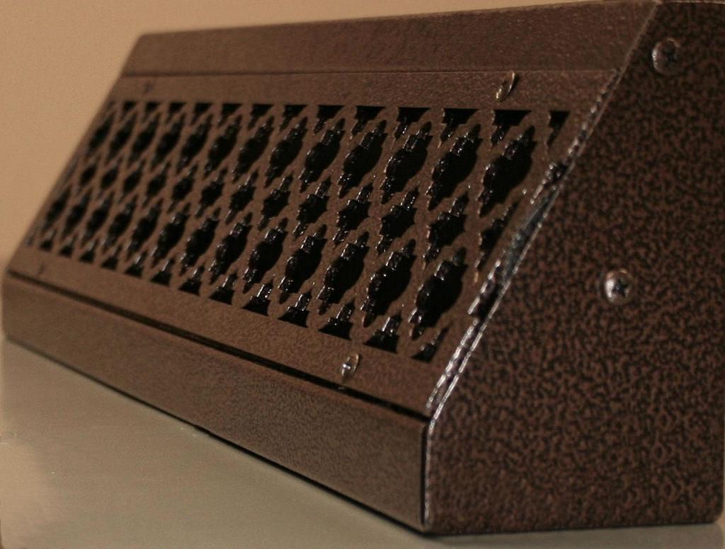 Hvacquick Steelcrest Metal Baseboard Registers
