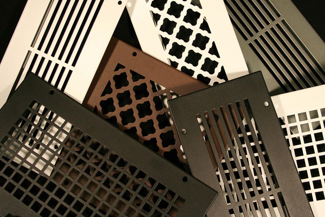 hvacquick steelcrest bronze series custom metal grilles and registers. Black Bedroom Furniture Sets. Home Design Ideas