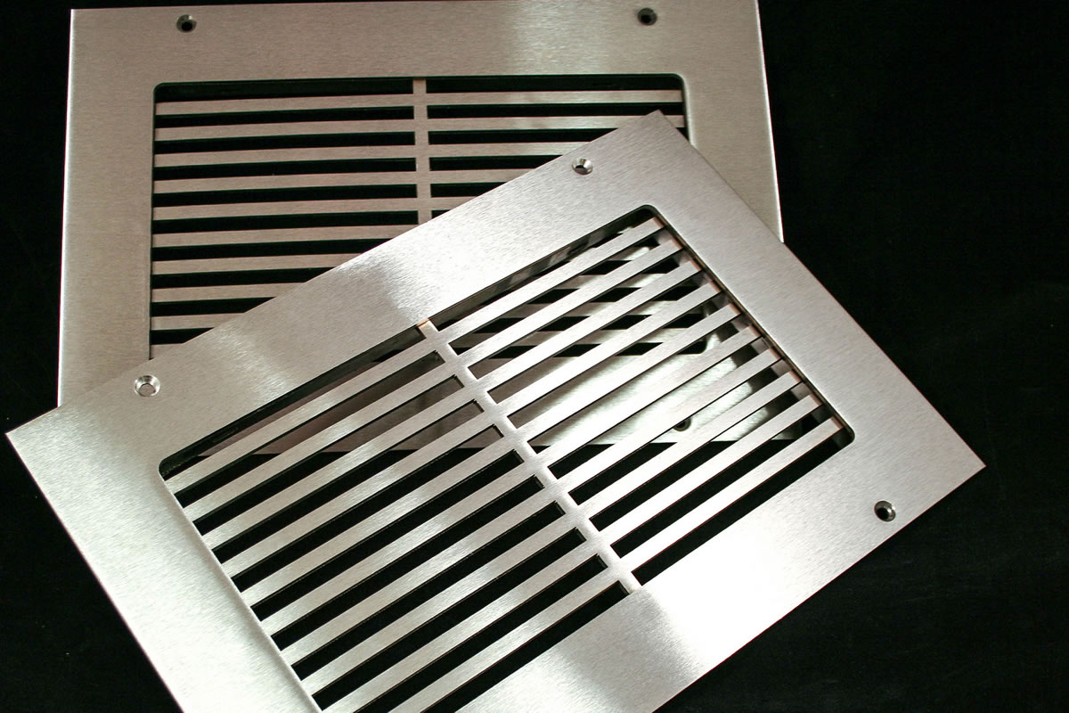 Linear Diffusers And Grilles : Hvacquick steelcrest pro linear custom metal grilles and