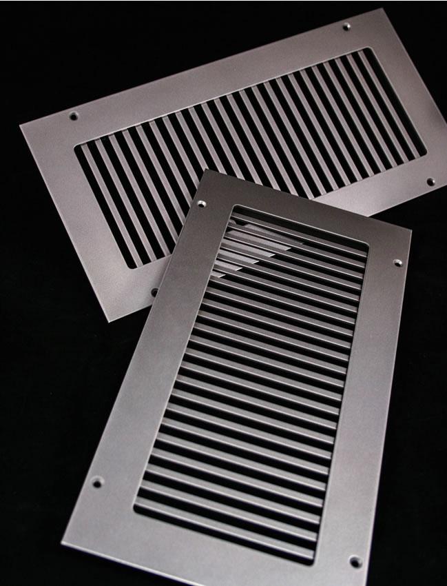 Hvacquick Steelcrest Pro Vertical Custom Metal Grilles