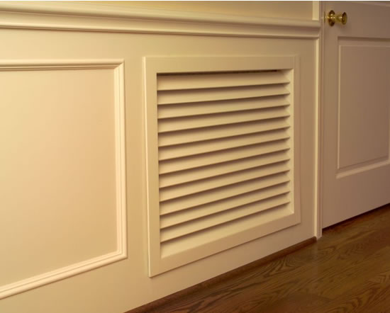 worth home products paint grade wood grilles installed