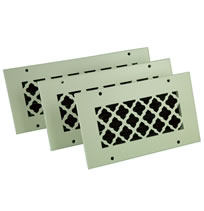 SteelCrest Bronze Series QUICK SHIP Custom Metal Grilles and Registers
