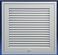 Dayus DARH-FG Return Air Filter Grilles - LOUVER STYLE