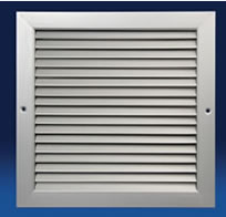 Dayus DANV-B Non-Vision Door Grilles with Flange Frame on ONE Side and No Aux Frame