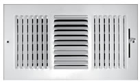 TRUaire Series 103M Stamped 3 Way Sidewall and Ceiling Registers