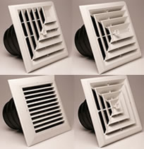 Airtec Series MV Ceiling Diffusers and Grilles