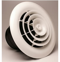 Airtec Series MV360 Round Ceiling Diffusers and Grilles