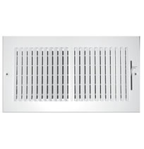 TRUaire Series 102M Stamped 2 Way Sidewall and Ceiling Registers