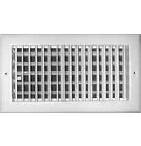 TRUaire A210 Series Aluminum Single Deflection Adjustable Bar Grilles With Damper