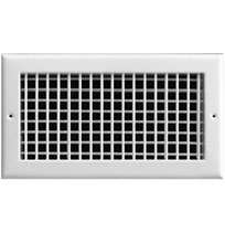 TRUaire A220 Series Aluminum Double Deflection Adjustable Bar Grilles With Damper